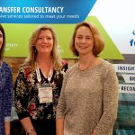 Fuentek's Danielle McCulloch, Becky Stoughton, and Laura Schoppe