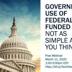Webinar: Government Use of Federally Funded IP: It's Not as Simple as You Think