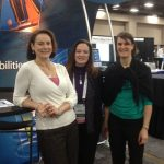 Laura Schoppe, Nannette Stangle-Castor, and Danielle McCulloch at AUTM 2013