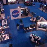 Five-part NASA booth Fuentek developed for 2008 MODSIM