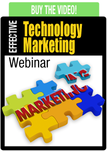 Effective Technology Marketing webinar